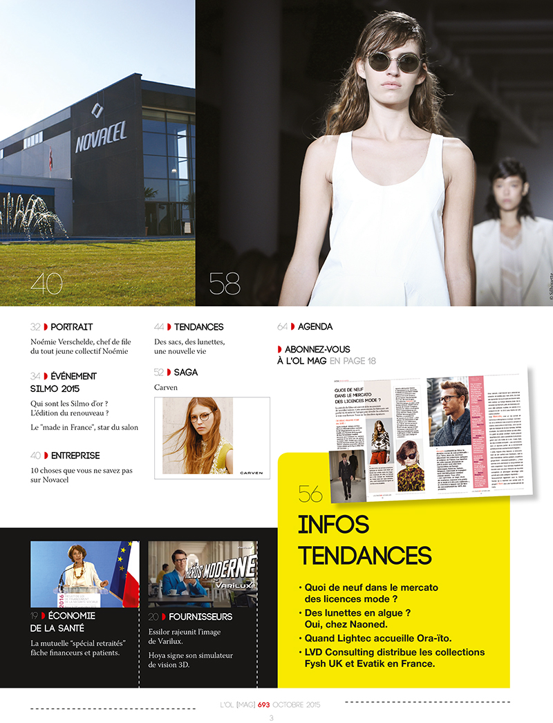 Le Magazine L'OL Mag - sommaire page 2