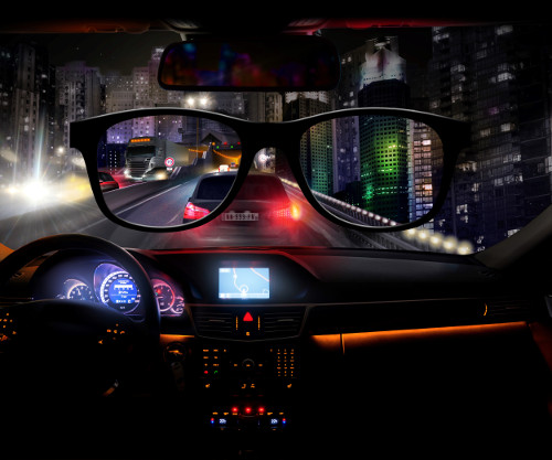 Lunettes Blueberry Night Drive