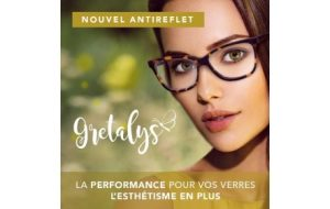 Gretalys, le nouvel antireflet signé Ophtalmic