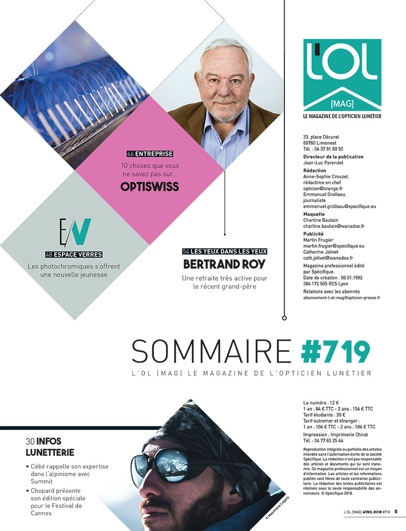 L'OL MAG N°719 - Sommaire page 2