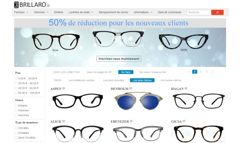 16f71fcb3be72 L opticien sur Internet Brillaro débarque en France - L OL MAGL OL MAG