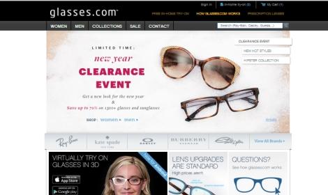 4924acf150edc2 Luxottica investit dans la vente et l essayage de lunettes sur Internet