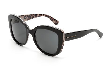 db08e01be81e1c Dolce   Gabbana   accents naturalistes et animaliers pour la nouvelle  collection de lunettes. 19 Jan 2015